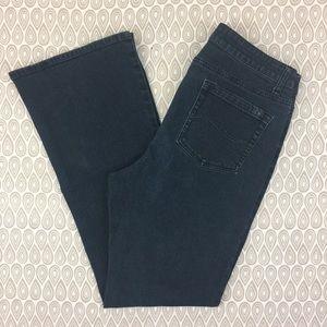Reba Women's Boot Cut Dark Wash Jeans Size 14 D13